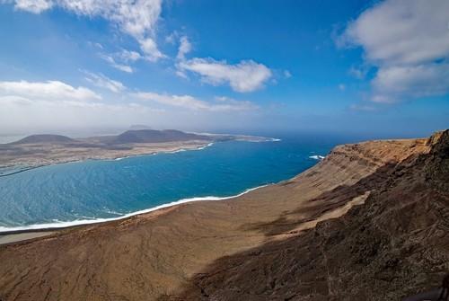 Lanzarote : Mirador del Rio