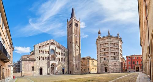 Parme : Piazza Duomo
