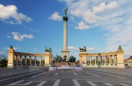 Budapest - Place des Héros